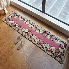 Dauerhafter Teppich Küchenstreifen saugfähige