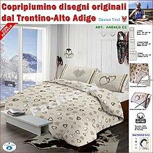 Daunen Tirol–Bettbezug, Doppelbett,