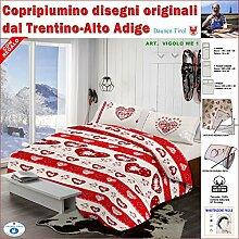 Daunen Tirol-Bettbezug, Doppelbett,
