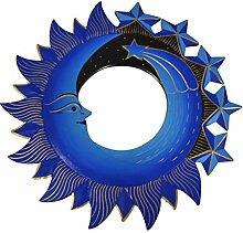 Davartis Toller Wandspiegel Sonne Mond & Sterne
