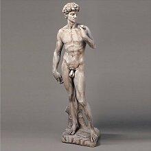 David aus Statue Gartenfigur Betonwerkstein