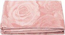 David Fussenegger SYLT Baumwolldecke cotton rouge
