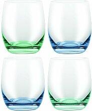 David Shaw Böhmische Konfetti-Glas, ohne Stiel,