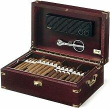 Davidoff Humidor für Zigarren, Holz, Zigarre, cigar Box Zubehör Marine Mogano