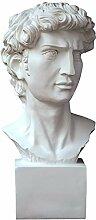 Davids Büste Statue, Michelangelo David Büste