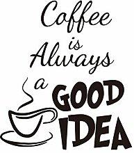 Daye Tapete, Kaffeetasse, Schwarz