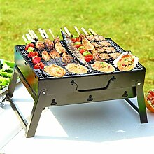DayPlus Barbecue-Grill, tragbar, faltbar,