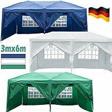 DayPlus Gartenpavillon mit seitenteilen, 3m x 6m