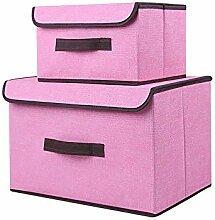 VLikeze 8 St/ück Aufbewahrungsbox Stoff Set Kommode Drawer Organizer faltbar Unterw/äsche Socken Organizer Ordnungsbox Faltbox Stoffbox f/ür Schubladen Ordnungssystem/—Schwarz