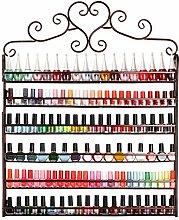 Dazone® 6-tier Metall Herz Nagellack Organizer Aromatherapie und ätherischen Ölen Regal Lippenstiftständer Aufbewahrung (Braun)