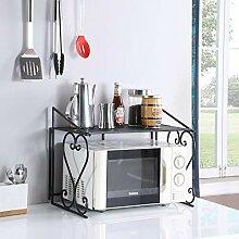 Dazone Metall Mikrowelle Regal Küche Zähler und