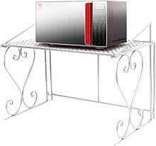 Dazone Metall Mikrowelle Regal Küchenregal