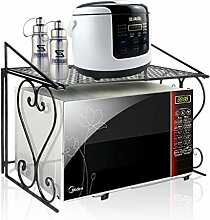 Dazone Stabiles Mikrowellen-Regal aus Metall, für die Küchenorganisation