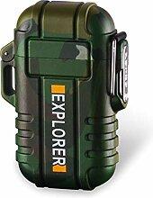 DBG USB-Feuerzeug, elektrisch, wiederaufladbar,