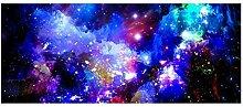 Dbtxwd Treppenmatten 3D Sterne Holzkohle Feuer Gummi Druck Türmatten Rechteck Anti-Rutsch Wasserabsorption Schlafzimmer Küche Dekoration Teppich 24 * 60cm / Packung von 2 , 19