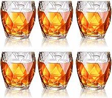 DBWIN 4-teilige Whiskygläser, 330 ml Premium
