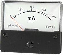DC 200mA Strom Mess-Werkzeug Rechteck Amperemeter