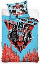 DC Batman vs Superman Bettwäsche Kinder