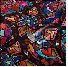 DC Fix 338-8142 Kaleidoskop-Fenster-Klebefolie,