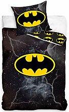 DC Universe BAT186001 Batman Wende-Bettwäsche Set