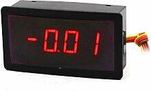 DC100A / 75mV 4-Leiter 4-stellige rote LED-Anzeige 5 V DC Strom Digital-Amperemeter