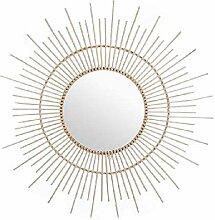Dcasa Bambus Spiegel Wandspiegel Möbel Aufkleber