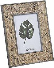 Dcasa Bilderrahmen aus Holz für Fotos als