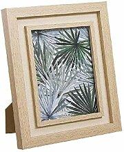 Dcasa Bilderrahmen mit Zwei Blättern, für Fotos,