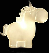 Dcasa Porzellan Form Einhorn Lampen Lufterfrischer