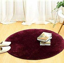 Dcdz Superweiche Runde Teppiche, Zottelige