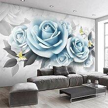 Dcivey Fototapete Für Schlafzimmerwände 3D Blue