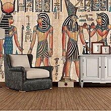 Dcivey Fototapete Tapete 3D Retro Ägyptische