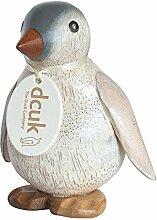 DCUK Bemalt Kaiser Pinguin Baby, Holz, Mehrfarbig,