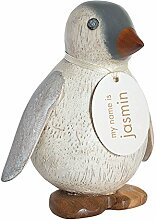DCUK Holz-Emperor Penguin Deko Statue Figur