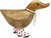 DCUK Natürliche Welly Walking Ducky-red Herz,