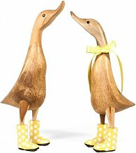 DCUK Welly Ducklets Home Accessories Holz Gifts