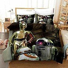 DCWE Bettwäsche Star Wars Mikrofaser mit