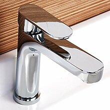 DD Golden Kupfer Wasserhahn Küche Badezimmer Schrank Waschbecken Becken Wasserhahn Sanitär Ware Silber