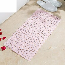 DD STORE Anti-Rutsch badvorleger,Badematte Großes Badezimmer Dusche massagematte,Feste PVC-Antirutsch-matten-B 49x49cm(19x19inch)