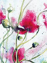 DD119133 Poppies Watercolour Designwalls