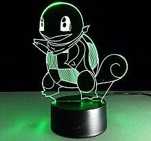 DDBBhome Pokemon Go Touch Nachtlichter Bunte