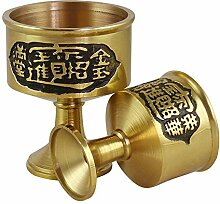 Ddcnl Cup Reines Kupfer Weinglas Glück Handwerk