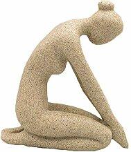 DDCYY Yoga-Statue/Skulpturen, Indoor-Skulptur,