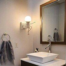 dddyr Cartoon Wandlampe Wohnzimmer Schlafzimmer