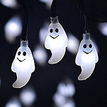 ddellk 10 LED Ghost String Light,
