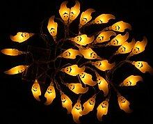 ddellk 30 LED Ghost String Light,