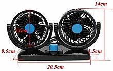 DDHPUsb Fan 360 Rotating Free Adjustment Auto
