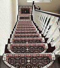 DDHSloutidian Treppen Teppich Treppe Stufenmatten
