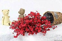 DDJSHT Künstliche Blume Künstliche Seide Rosa