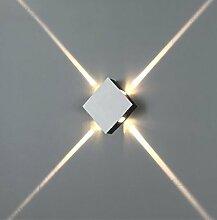 DDNL Innen 4W LED Wandleuchte Vier Richtungen